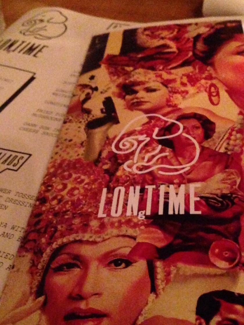 Longtime menu