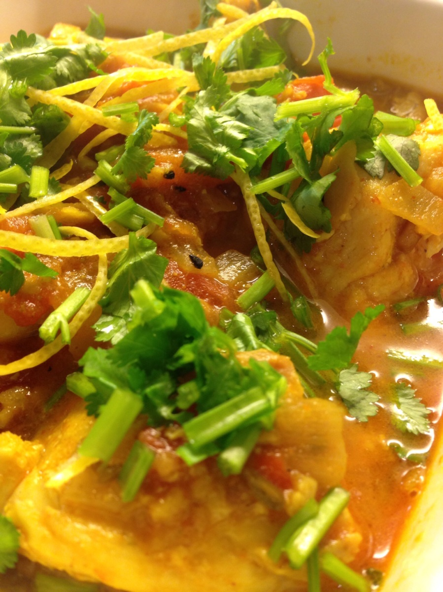 Fish and Fenugreek Curry