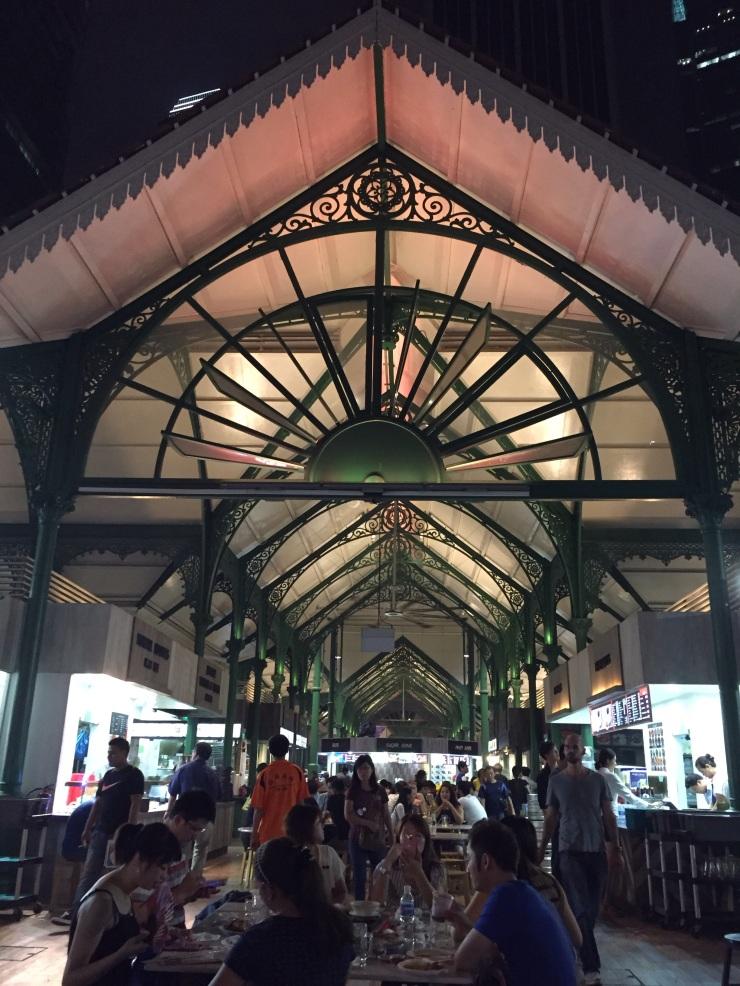 Lau pa Sat Market Building