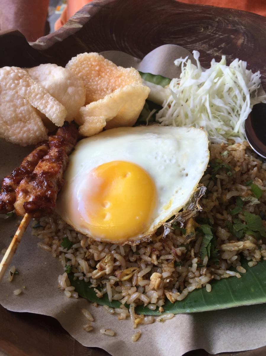 Javanese dining in  Ubud - Warung Mendez Penestanan