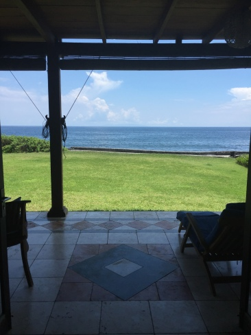 Stunning ocean views from Villa Mandala at Turtle Bay Hideaway, Jasri, East Bali