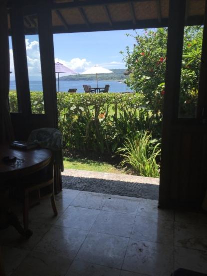 View from Villa Mandala at Turtle Bay Hideaway, Jasri, East Bali