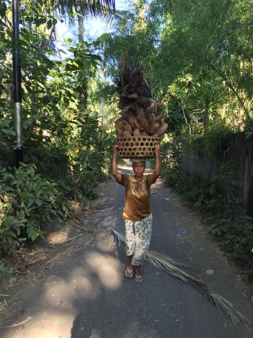 Village walk nearvTurtle Bay Hideaway, Jasri, East Bali