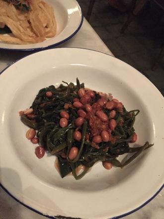 Pelecing Kankung - water spinach