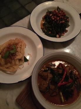 Kari Kambing Aceh - slow cooked Sumatran lamb curry with roti canai
