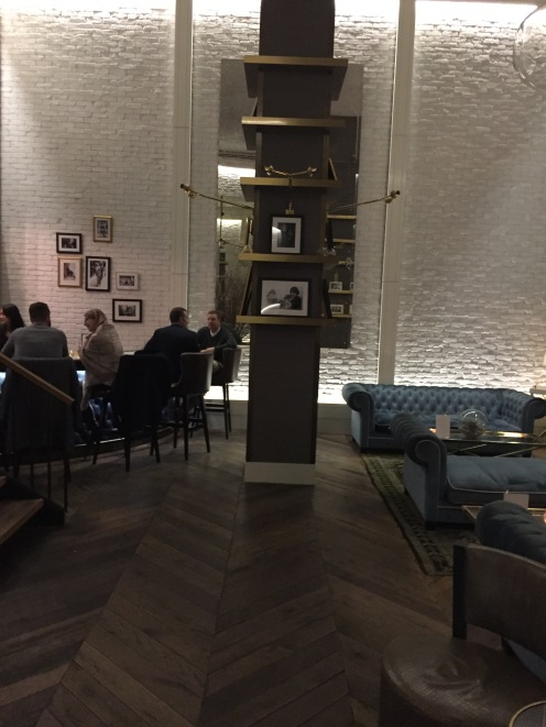 Foyer bar at The Roger, NYC
