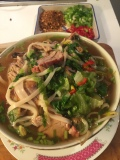 Thai Red Roast Pork Noodle Soup