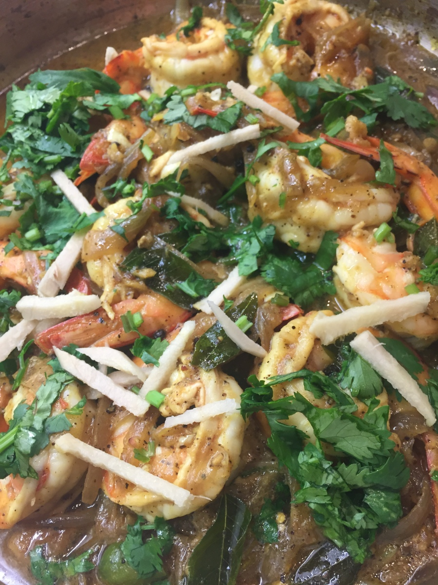 Black Pepper Prawn Curry