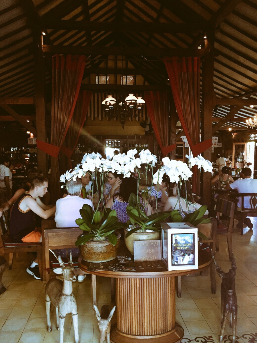 Breakfast at Biku beckons in Bali