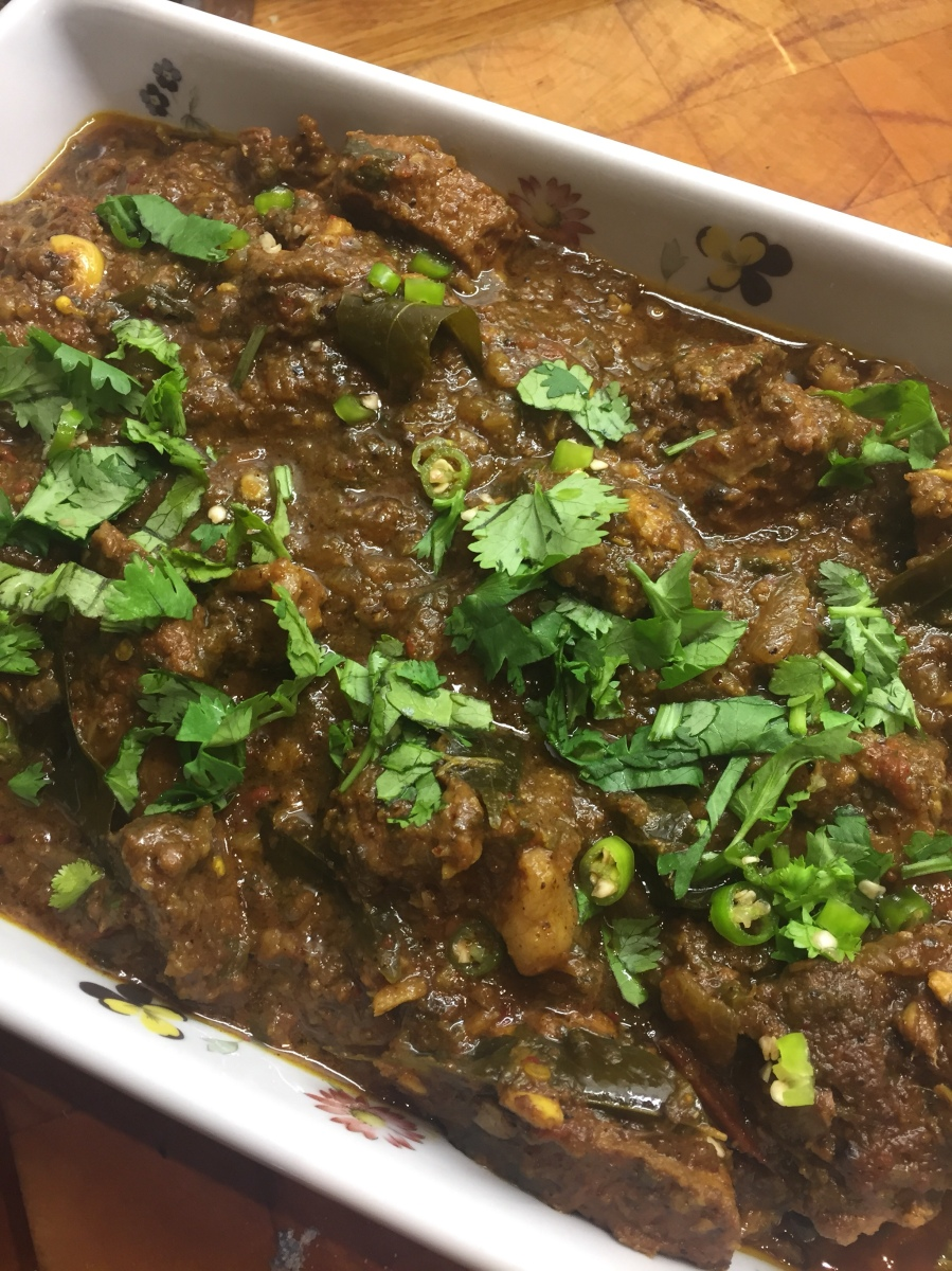 Lamb Xacuti - Goan curry