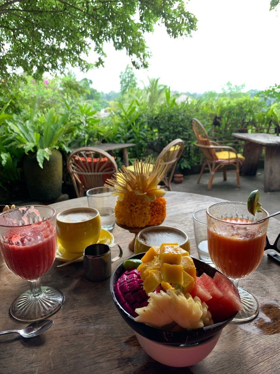 "Best ""Blooming"" Breakfast at Yellow Flower Cafe, Ubud"