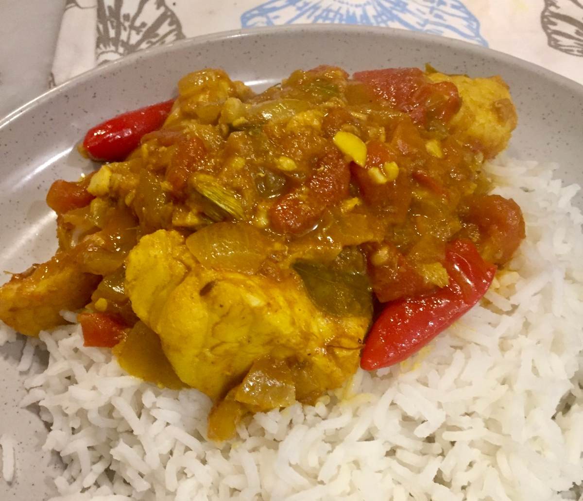 #Quick Fish Curry with #Tamarind